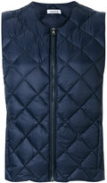 P.A.R.O.S.H. sleeveless padded jacket
