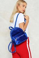 Nasty Gal nastygal WANT Put Your Hands On Velvet Backpack