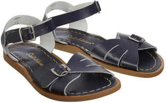 Salt Water Salt-Water - Classic Navy Leather and Rubber Sandals - navy | Leather and Rubber | 33 - Navy
