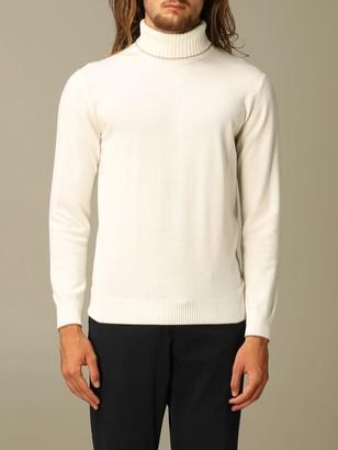 Eleventy Sweater Platinum Turtleneck In Wool