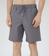 Reiss Reiss Hanro Shorts - Hanro Leisure Shorts In Grey, Mens