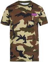 Givenchy Cuban-fit camouflage-print T-shirt