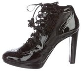 Jean Paul Gaultier Lace-Up Ankle Boots