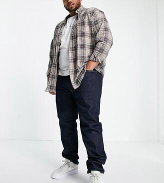 Levi's Big & Tall 512 slim tapered fit jeans in rock cod dark wash