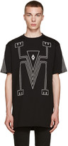 Marcelo Burlon County of Milan Black Tupungato T-Shirt