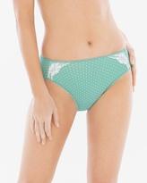 Soma Intimates Vanishing Tummy with Lace High Leg Brief