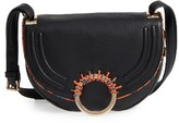 Sam Edelman Rio Calfskin Crossbody Bag - Black