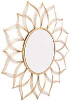 ZUO Decor Flower Mirror, Gold