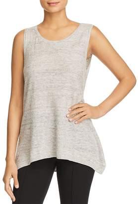 Donna Karan Linen Sweater Tank