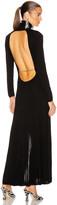 Rixo Antonia Dress in Black | FWRD