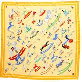 Hermes Raconte-Moi Le Cheval Silk Scarf