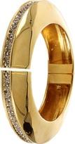 Alexis Bittar Crystal-Channel Hinge Bracelet