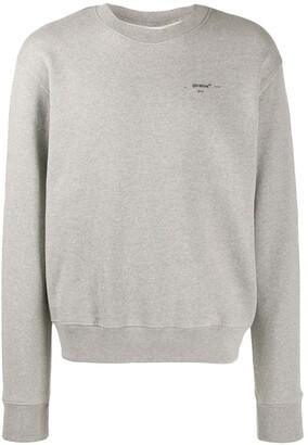 Off-White Logo Printed Sweatshirt