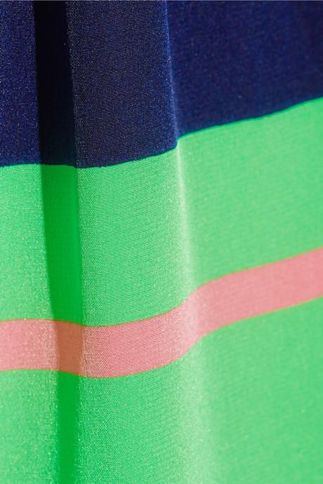 Issa Printed silk crepe de chine wide-leg pants
