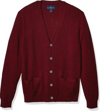 Buttoned Down Amazon Brand Men's 100% Premium Cashmere Cardigan Sweater