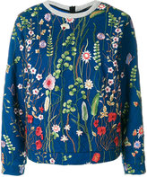 Odeeh floral embroidered sweatshirt