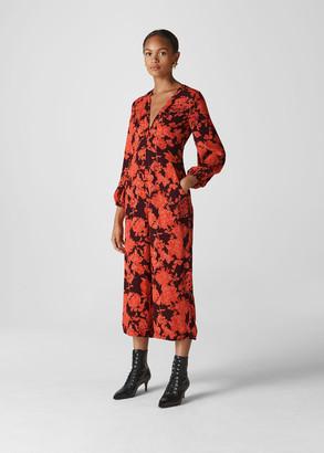 Juana Silk Jumpsuit