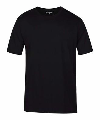 Hurley Men's Premium Cotton Staple Short Sleeve Tee Shirt T