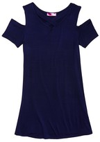 Aqua Girls' Cold Shoulder Dress, Sizes S-XL - 100% Exclusive