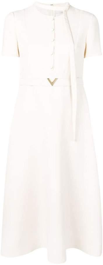 Valentino V belt couture dress
