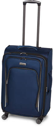 """Kenneth Cole Reaction 24"""" Navy Cloud City Upright Spinner"""