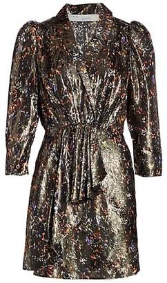 IRO Milad Mini Lurex Dress