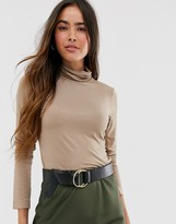 French Connection roll neck