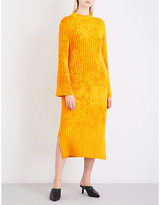 Pringle Textured ribbed-knit midi dress