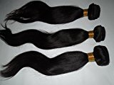 HairPR Hair 100% Indian Human Virgin Hair extension 3 Bundles Straight Natural Color Can be dyed
