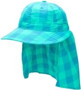 Acne Studios Vichy-check safari hat
