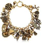 Alcozer & J Charm Bracelet