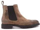 Belstaff Lancaster Suede Chelsea Boots