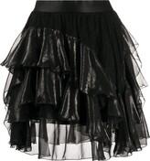 Faith Connexion frill-trim A-line skirt
