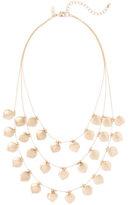 New York & Co. 3-Row Bib Necklace