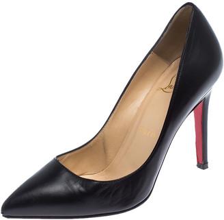 Christian Louboutin Black Leather Eloise Pumps Size 34.5