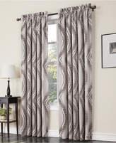 """Sun Zero Coda Room Darkening Woven Curtain 54"""" x 63"""" Panel"""