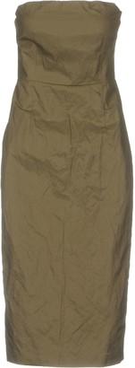 Gold Case Knee-length dresses