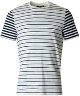Michael Kors Striped Block Crew Neck T-shirt