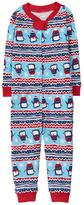 Gymboree Fair Isle 1-Piece Pajamas