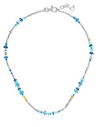 Gurhan Women's Vertigo Flurries Collection Sterling Single Strand Short Bead Necklace
