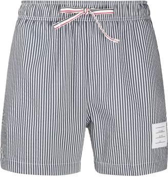 Thom Browne stripe swim trunks