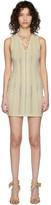 DSQUARED2 White Lace-Up Short Dress
