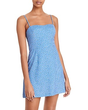 French Connection Blue Elao Printed Dress