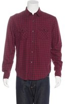Band Of Outsiders Plaid Woven Shirt
