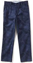 Class Club Big Boys 8-20 Tropical Leaf Print Pants