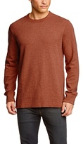 Eddie Bauer Men's 14302140 Plain Crew Neck Long Sleeve Long Sleeve Top,(Manufacturer size: )