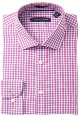 Tommy Hilfiger Plaid Slim Fit Dress Shirt