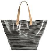 Merona Women's Laminated Tote Handbag