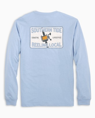 Southern Tide Reeling Local Long Sleeve T-Shirt