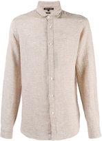 MICHAEL Michael Kors classic shirt - men - Linen/Flax - M